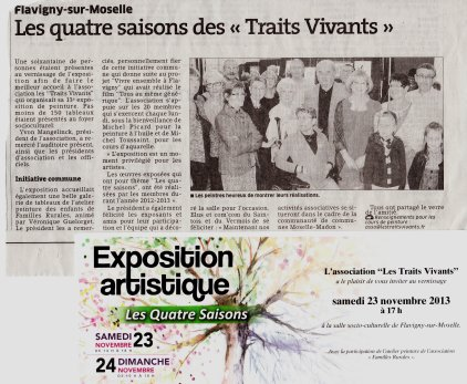 article journal exposition 2013